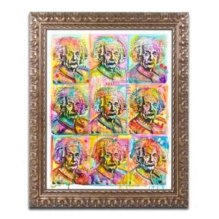 Dean Russo 'Einstein' Ornate Framed Art