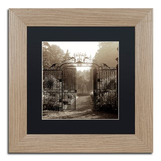 Alan Blaustein 'Hampton Gates III' Matted Framed Art