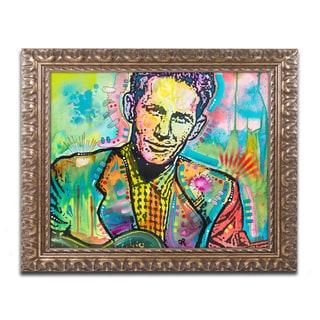 Dean Russo 'Chet Atkins' Ornate Framed Art