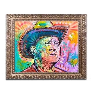 Dean Russo 'Bill Monroe' Ornate Framed Art