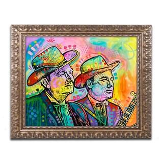 Dean Russo 'Flatt & Scruggs' Ornate Framed Art