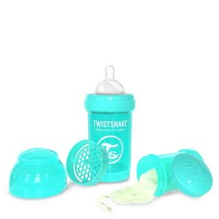 Twistshake Turquoise 6-ounce Anti-Colic Baby Bottle