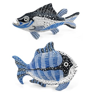 Sea Fish Figurine - set of 2