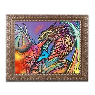 Dean Russo 'Dragon' Ornate Framed Art