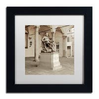 Alan Blaustein 'Lucca II' Matted Framed Art