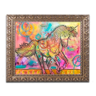 Dean Russo 'Unicorn' Ornate Framed Art