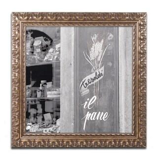 Alan Blaustein 'Il Pane I' Ornate Framed Art