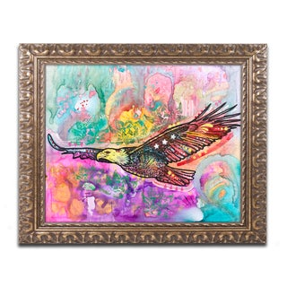 Dean Russo 'Eagle' Ornate Framed Art