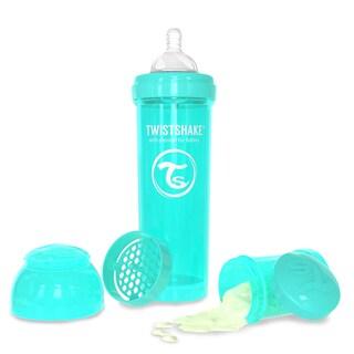 Twistshake Turquoise 11-ounce Anti-Colic Baby Bottle