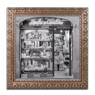 Alan Blaustein 'Dolci e Cantine' Ornate Framed Art