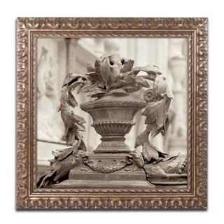 Alan Blaustein 'Giardini Italiano II' Ornate Framed Art
