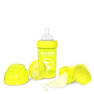Twistshake Yellow 6-ounce Anti-Colic Baby Bottle