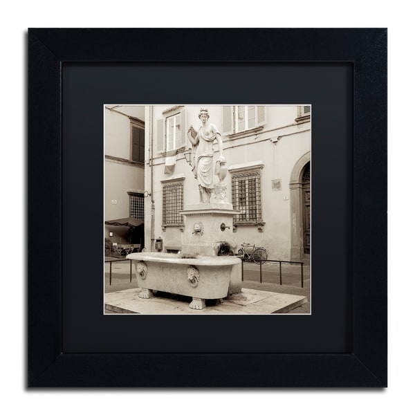 Alan Blaustein 'Lucca I' Matted Framed Art