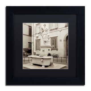 Alan Blaustein 'Lucca I' Matted Framed Art