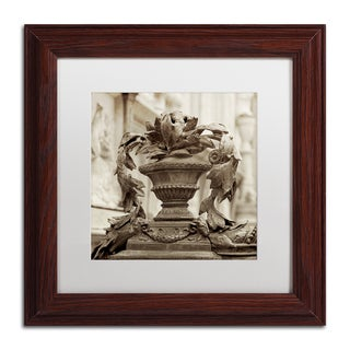 Alan Blaustein 'Giardini Italiano II' Matted Framed Art