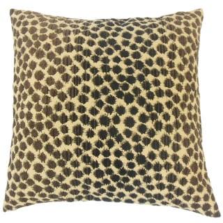 Thaman Geometric 22-inch Down Feather Throw Pillow Briar