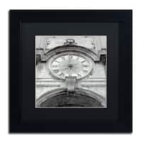 Alan Blaustein 'Il Grande Ororlogio I' Matted Framed Art