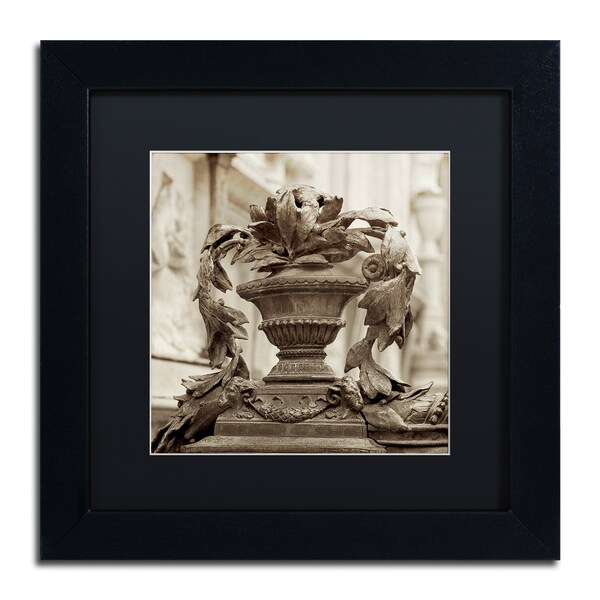Alan Blaustein 'Giardini Italiano II' Matted Framed Art