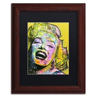 Dean Russo 'Golden Marilyn' Matted Framed Art
