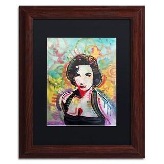 Dean Russo 'Liz' Matted Framed Art