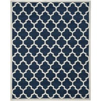 Safavieh Newport Navy/ Cream Area Rug (8' x 10')