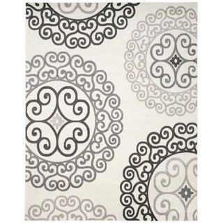 Safavieh Newport Ivory/ Grey Area Rug - 8' x 10'