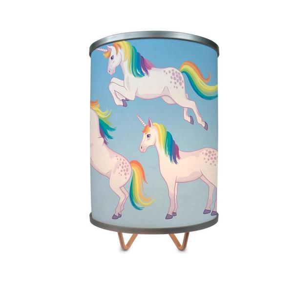 """""""Playful Unicorns More Than A Lamp, Framed Art Now Comes Down From The Wall"""""""