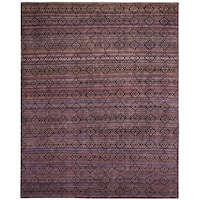 Safavieh Marrakech Hand-Knotted Purple/ Multi Wool Area Rug - 8' x 10'