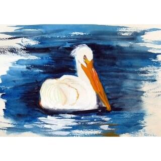 Betsy Drake Spring Creek Pelican 30-inch x 50-inch Door Mat