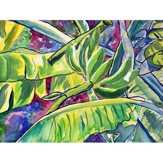 "Betsy Drake Bananas Door Mat (18"" x 26"")"
