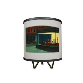 """""""Nighthawks by Edward Hopper More Than A Lamp, Framed Art Now Comes Down From The Wall"""""""