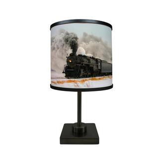ArtLight 'Train In Winter' More Than A Lamp, Framed Art Now Comes Down From The Wall