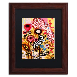 Natasha Wescoat '104' Matted Framed Art