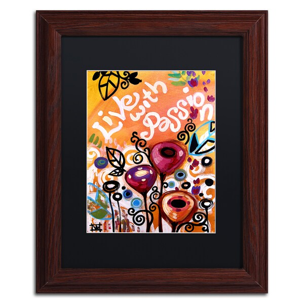 Natasha Wescoat '103' Matted Framed Art