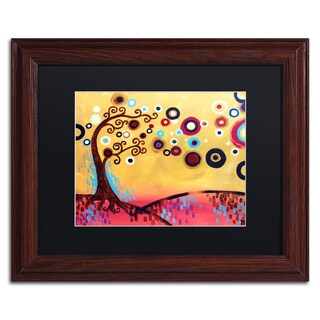 Natasha Wescoat '087' Matted Framed Art