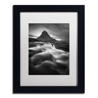 Mathieu Rivrin 'Kirkjufell' Matted Framed Art