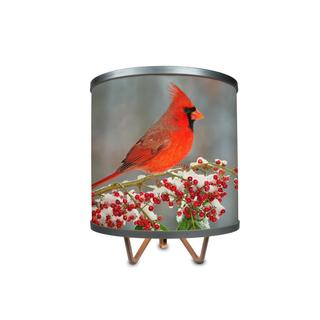"""Winter Cardinal In the Snow More Than A Lamp, Framed Art Now Comes Down From The Wall"""