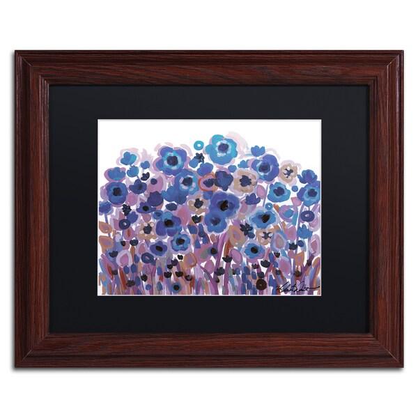 Natasha Wescoat '009' Matted Framed Art