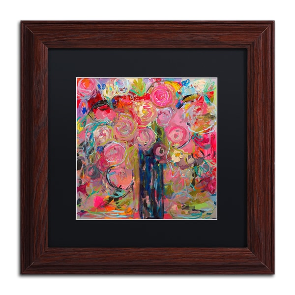 Carrie Schmitt 'Release' Matted Framed Art