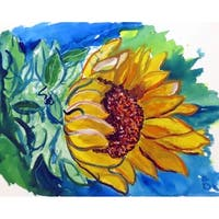 Windy Sunflower Door Mat 18x26