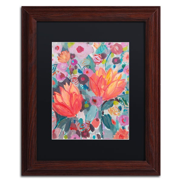 Carrie Schmitt 'Inhalation' Matted Framed Art
