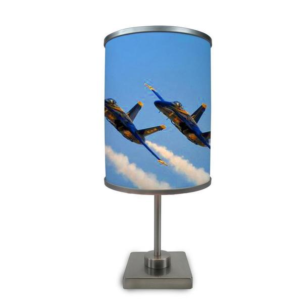 ArtLight 'Blue Angels' More Than A Lamp, Framed Art Now Comes Down From The Wall