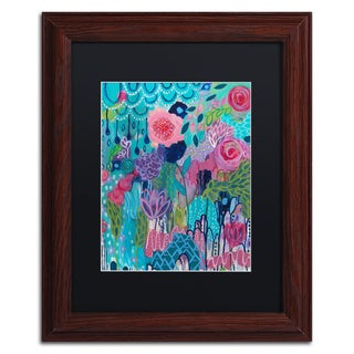 Carrie Schmitt 'Exhalation' Matted Framed Art