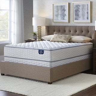 Serta Westview Plush Cal King-size Mattress Set