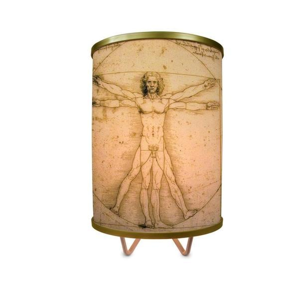 """""""Vitruvian Man More Than A Lamp, Framed Art Now Comes Down From The Wall"""""""