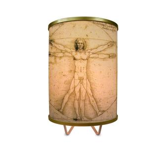 """Vitruvian Man More Than A Lamp, Framed Art Now Comes Down From The Wall""