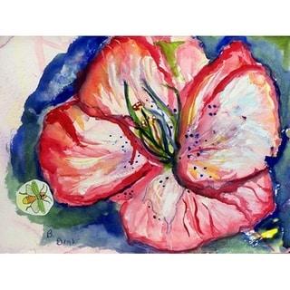 Hibiscus Door Mat 18x26