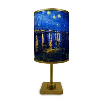 """""""Starry Night Over The Rhone More Than A Lamp, Framed Art Comes Down From The Wall"""""""