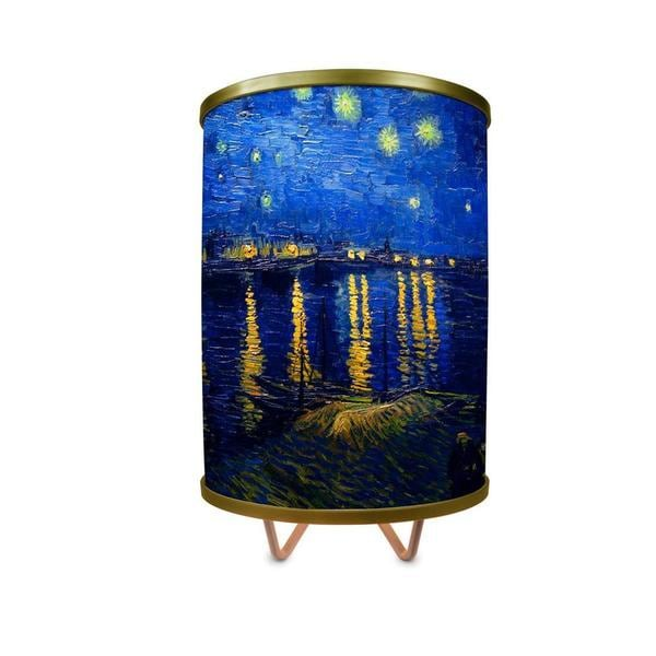 """Starry Night Over The Rhone More Than A Lamp, Framed Art Comes Down From The Wall"""