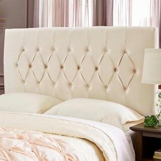 Humble + Haute Hudson Velvet Ivory Upholstered Headboard